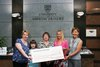 Abertay cheque presentation to TCCL
