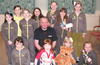 Brechin Brownies Hand over Cheque