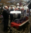 TCCL Accepts cheque from Brian and his staff